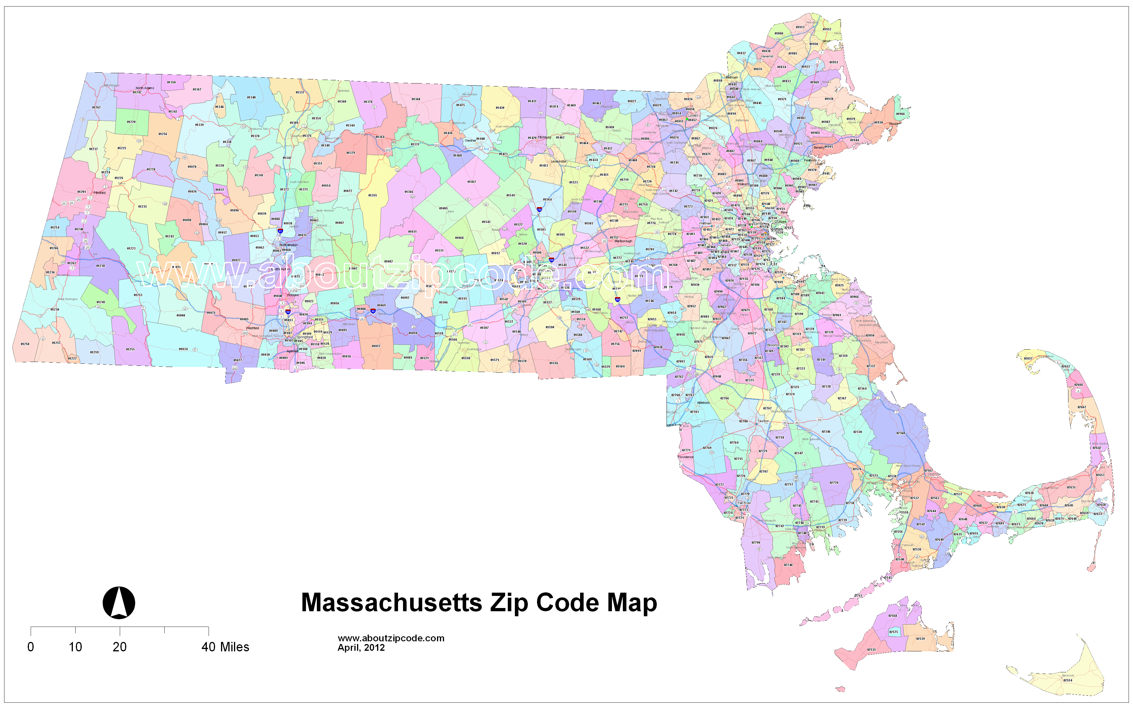Massachusetts Zip Code Maps Free Massachusetts Zip Code Maps